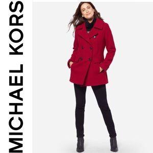 Michael Michael Kors Wool Pea Coat